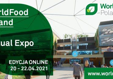 WorldFood Poland Virtual EXPO 2021 – trendy kształtujące przyszłość branży