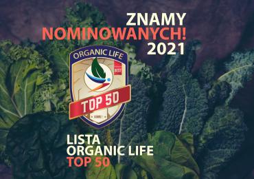 Lista Nominowanych w Plebiscycie Ekologicznym #ListaORGANICLIFETOP50